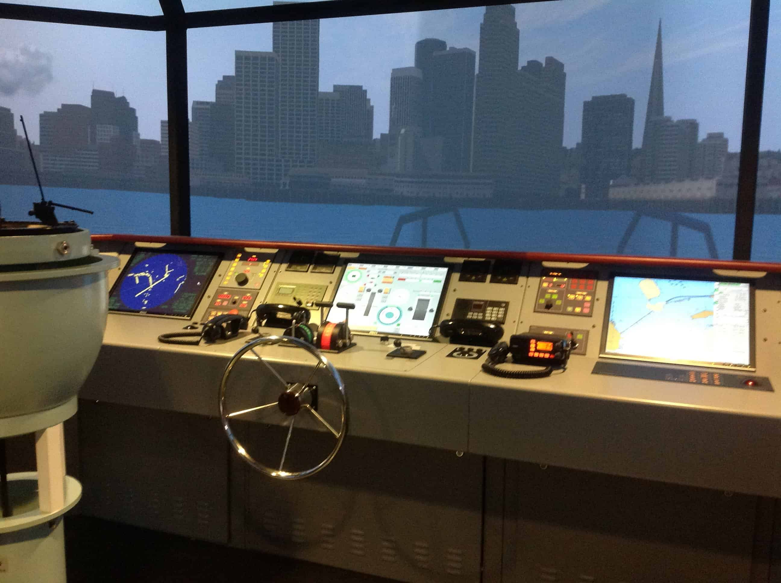 CMA's Ship Bridge Simulator