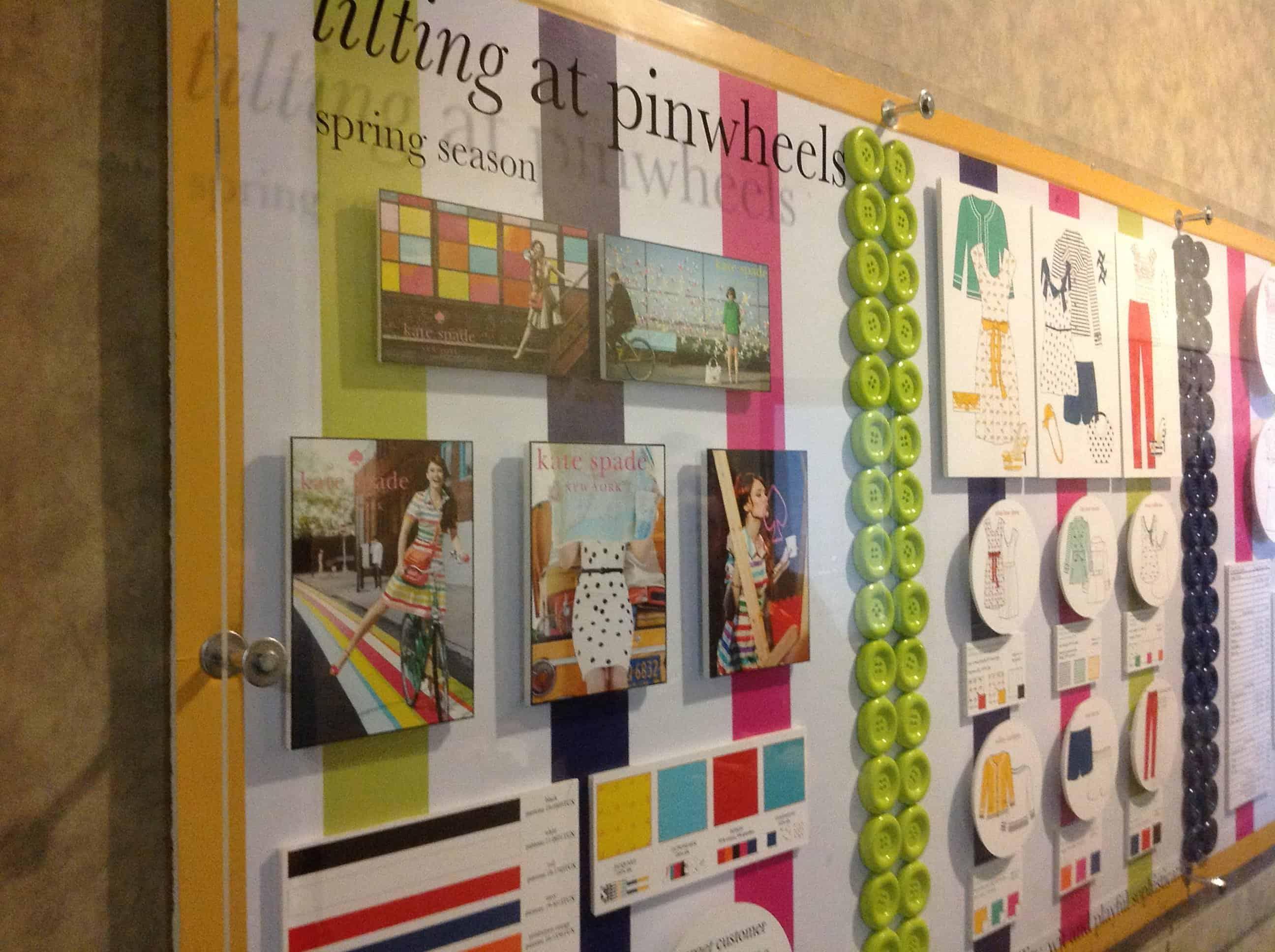 FIDM presentation board