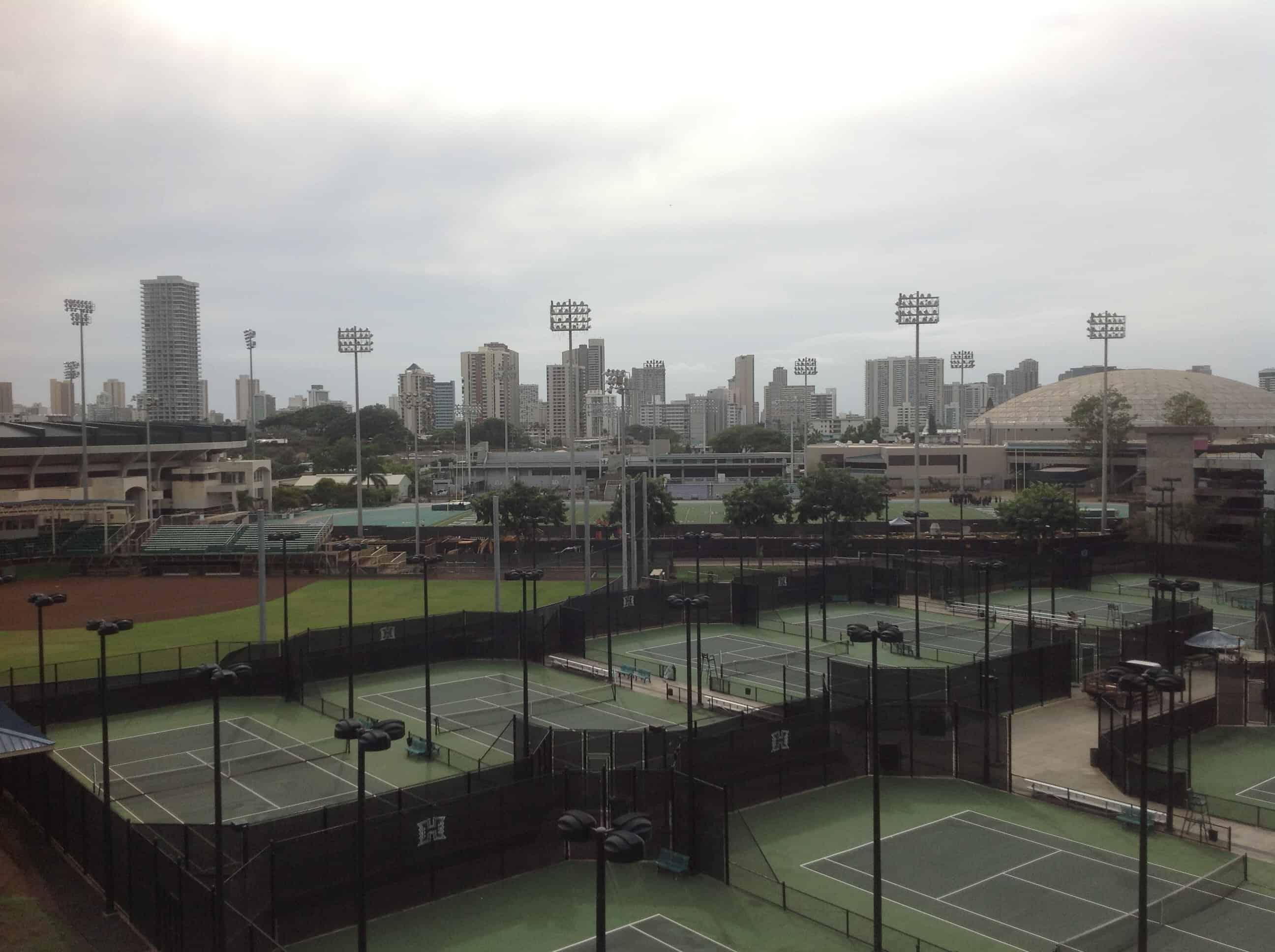 U Hawaii Athletic Facilities