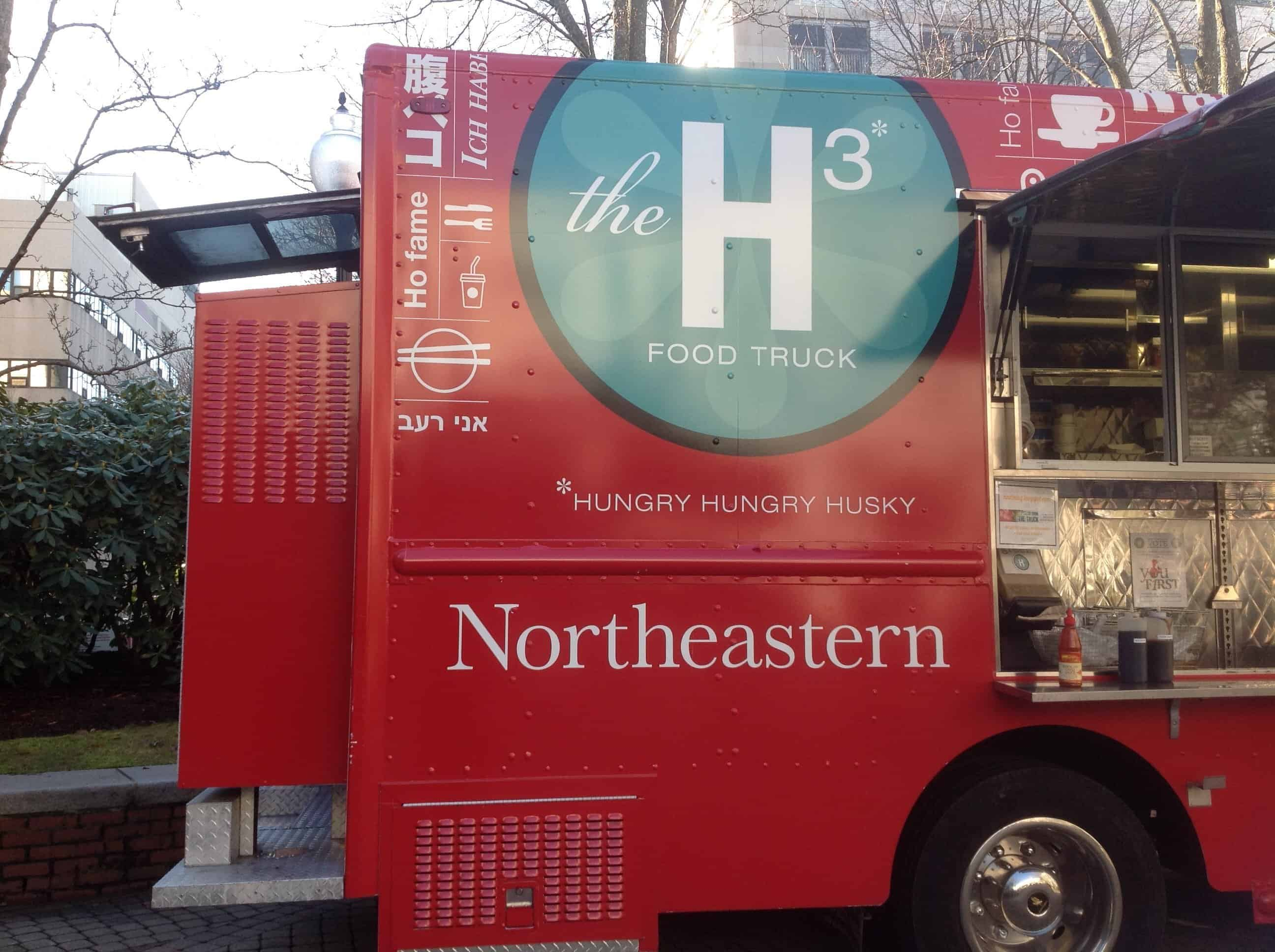 Northeastern Food Truck!