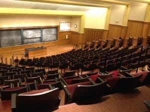 Washington University larger lecture hall