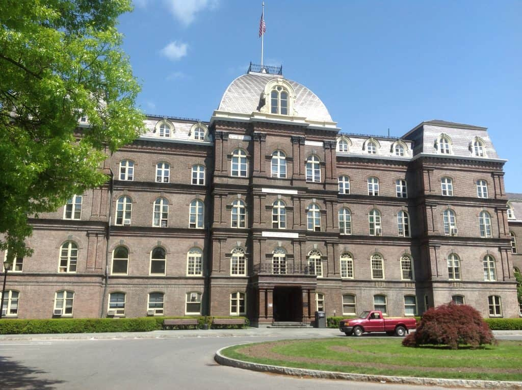 Vassar College main building
