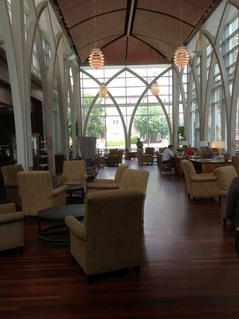 Cafe in Perkins Library