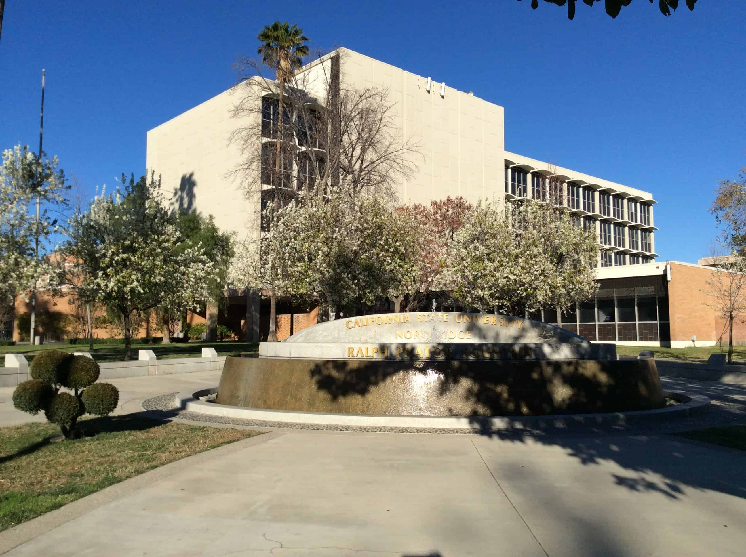 Bayramian Hall - student resource building at CSUN
