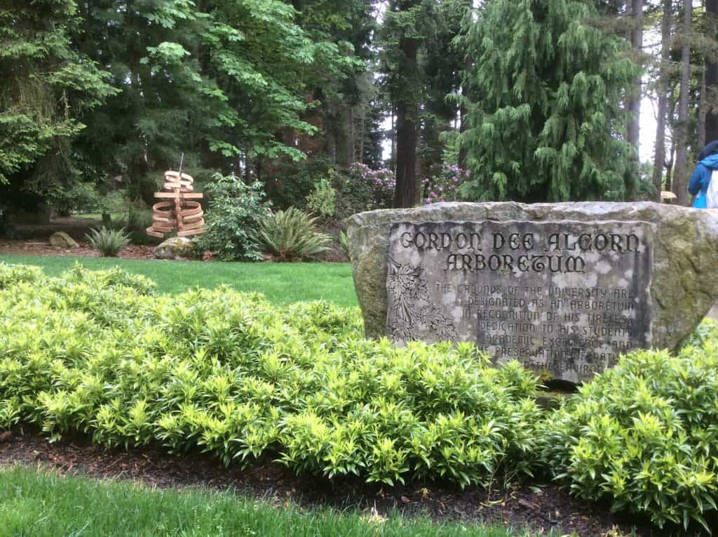 Magellan College Counseling - Univ Puget Sound Arboretum (+ art installations)