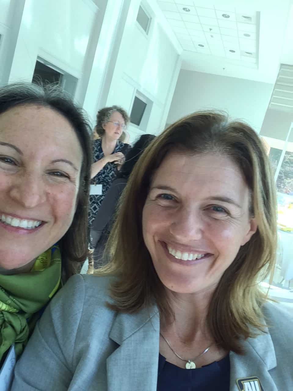 Magellan College Counseling - Evelyn with AD Meg Stevens