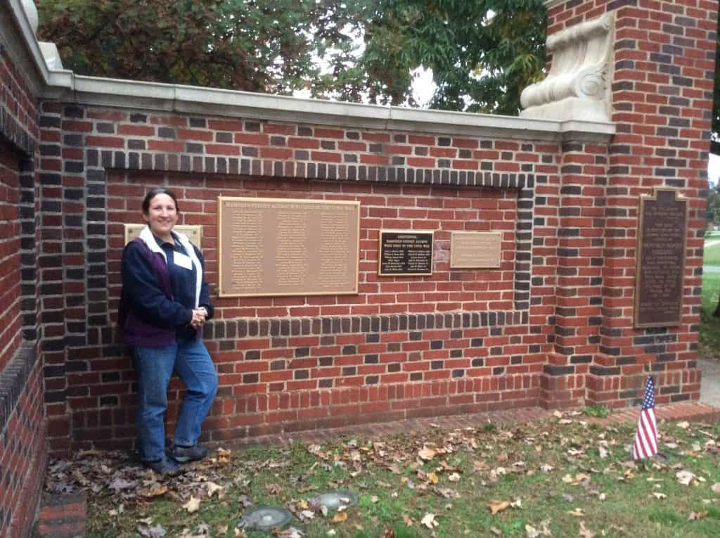 Magellan College Counseling - Hampden-Sydney College Evelyn at Memorial gate