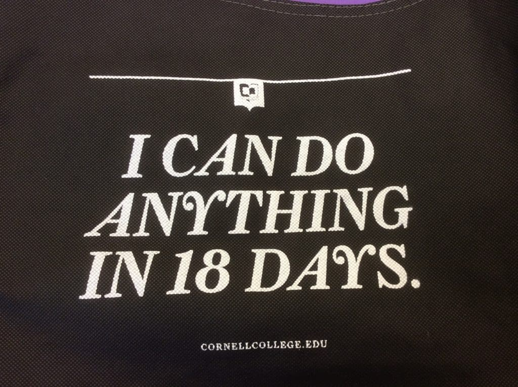 Magellan College Counseling - Cornell College slogan