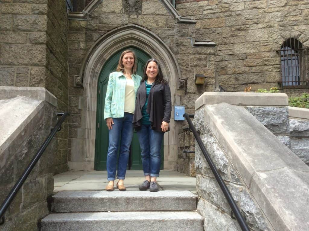 Magellan College Counseling's Jennifer and Evelyn at Wellesley College