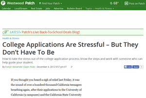Surviving The College Application