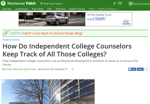 What Do College Counselors Do