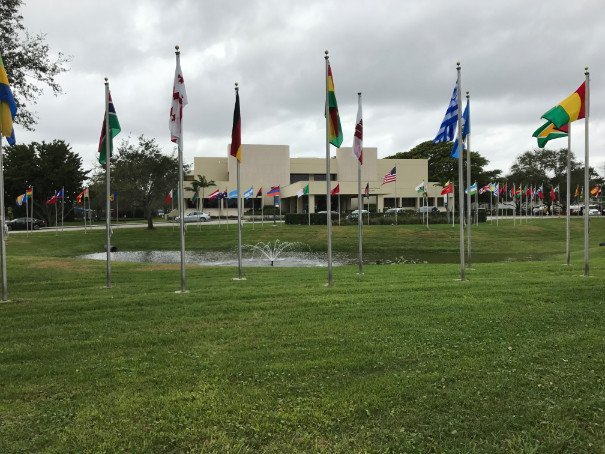 Lynn University boasts a high international student population