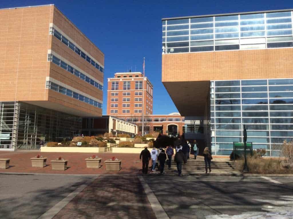 UNC Charlotte academic quad