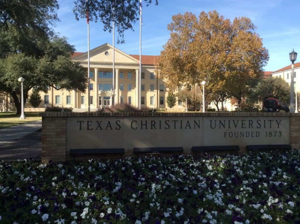 TCU main entrance