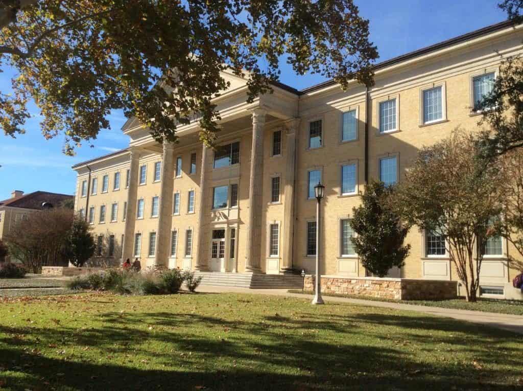 Texas Christian University's original building