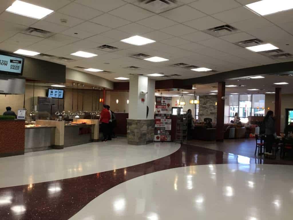 Sacred Heart University Dining Main