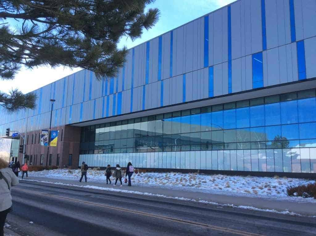 NAU wellness building
