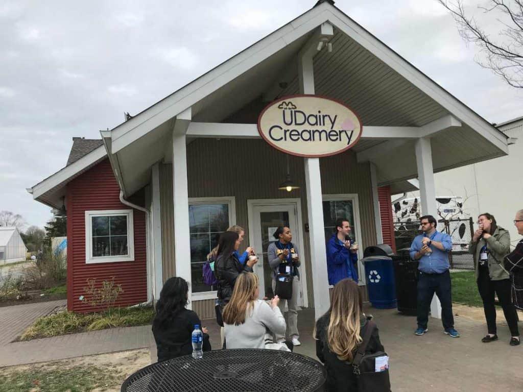 University of Delaware UDairy Creamery