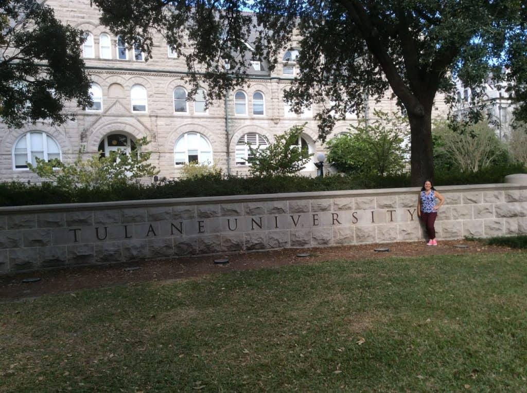 Tulane University front entrance
