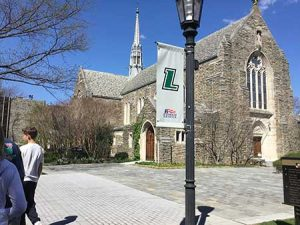 Patriot League Flag at Loyola University Maryland