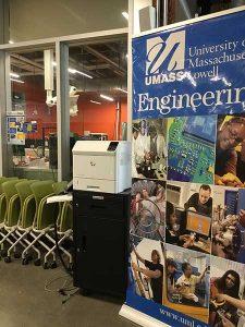 University of Massachusetts - Lowell Engineering School Banner