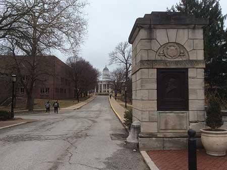 Campus Entrance to University of Missouri