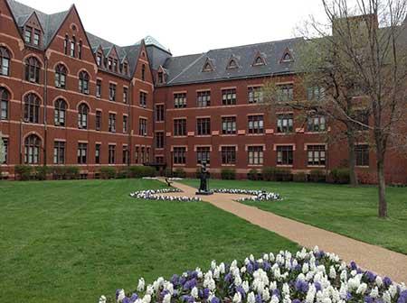 Quad at St. Louis University