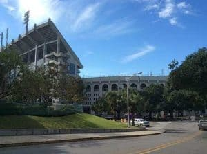 Tigaer Stadium at Louisiana State University
