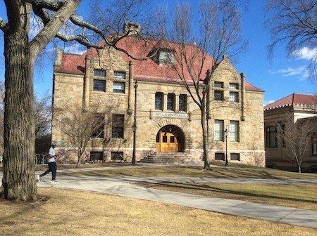 Wilson Hall at Brown University