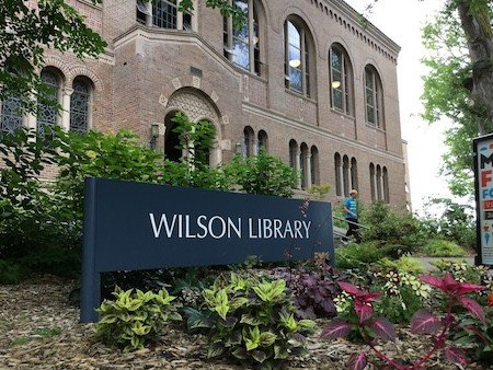 Wilson Library at Western Washington University