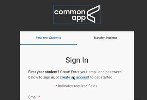 Common App Profile and Family Sections
