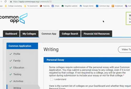 Common-App-Writing-Sections