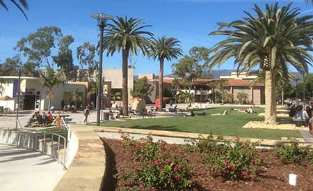 The UCSB Library Quad
