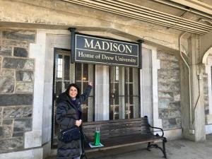 Drew-University-Debbie-Madison-train-station