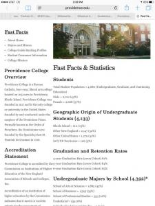 Providence-College-fast-facts