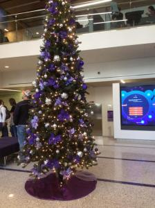 TCU-purple-Christmas-tree