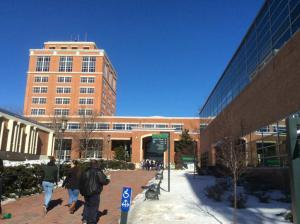 UNC-Charlotte-library-tower