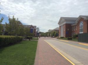 christopher-newport-university-front-road