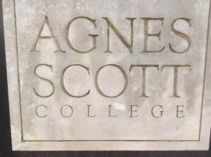 Agnes-Scott-College-sign