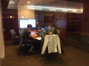 Bentley-University-Library-group-study-room
