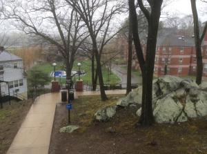 Bentley-University-view-lower-campus-dorms