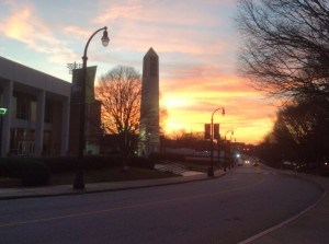 Morehouse-College-sunset
