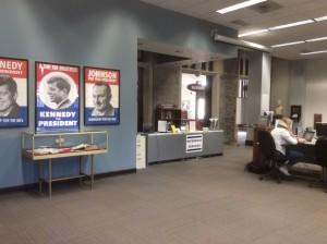 Oglethorpe-University-Library-political-exhibit