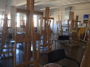 SCAD-Atlanta-painting-classroom