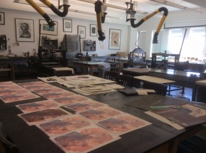 SCAD-Atlanta-printmaking-lab